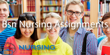 Bsn Nursing Assignments