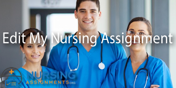Edit My Nursing Assignment