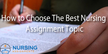 Tips for writing the best nursing assignment