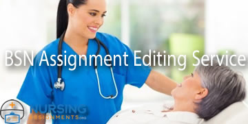 BSN Assignment Editing Service